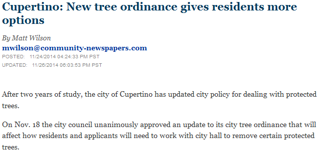 New tree ordinance gives residents more options