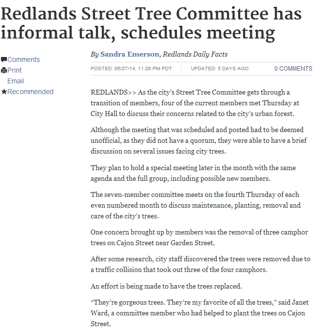 redlands-street-tree-committee-has-informal-talk-schedules-meeting