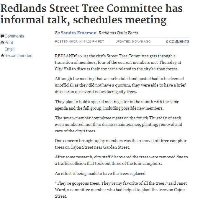 redlands-street-tree-committee-has-informal-talk-schedules-meeting